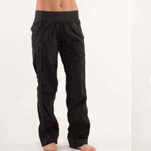 Lululemon Black Quick Step Pants Size 4